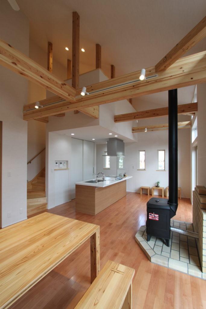 那須でのセカンドライフを楽しむ家(ゼロ・エネルギー住宅)