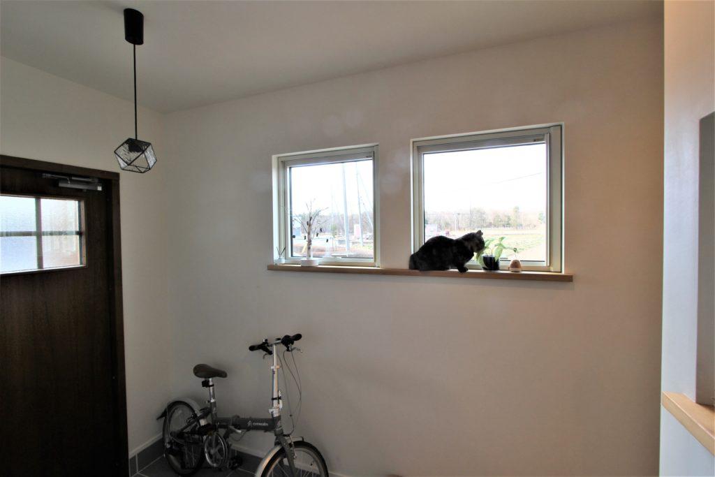 ネコとの暮らしを楽しむ家(ゼロ・エネルギー住宅)