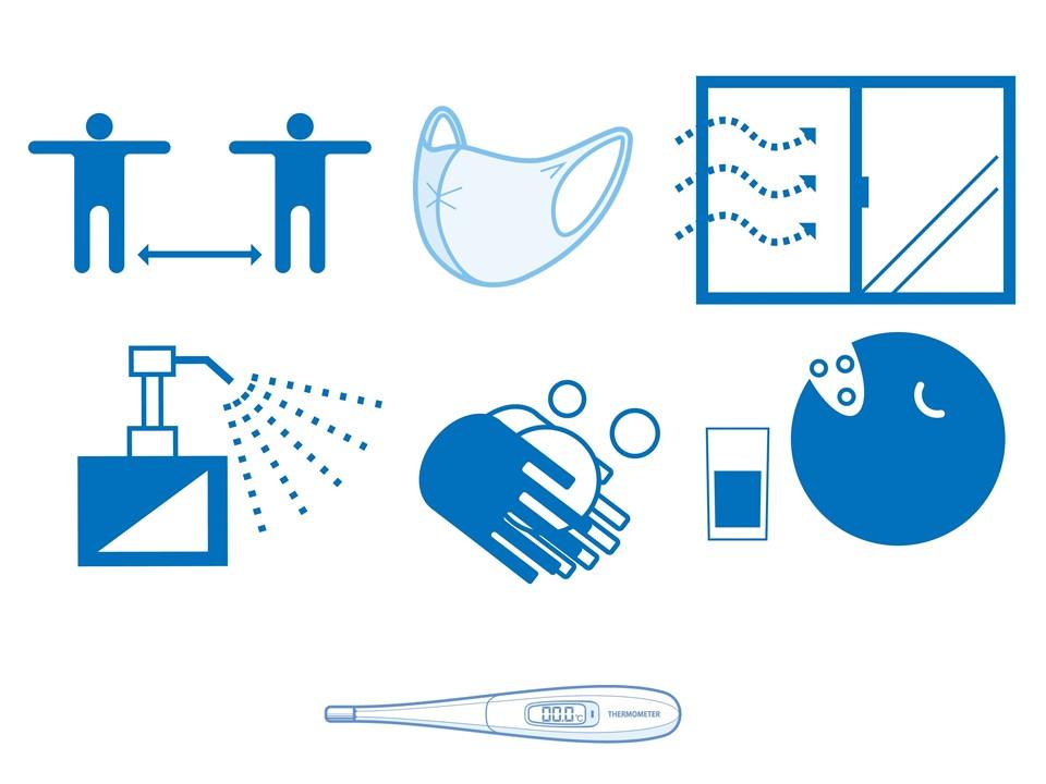 斎藤建設の新型コロナウイルス感染予防の対応につきまして