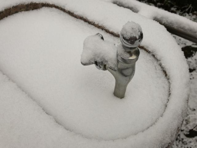 水道の凍結にご注意ください