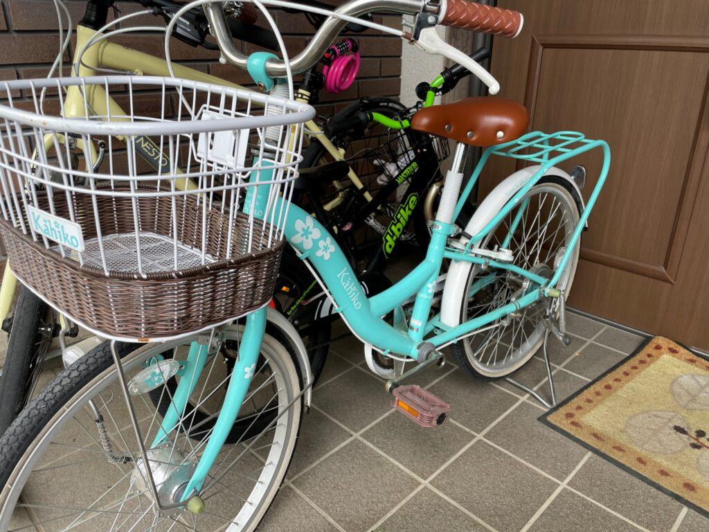 自転車のバトン